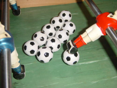 **** LOT de 10 balles de baby foot Nylon ****