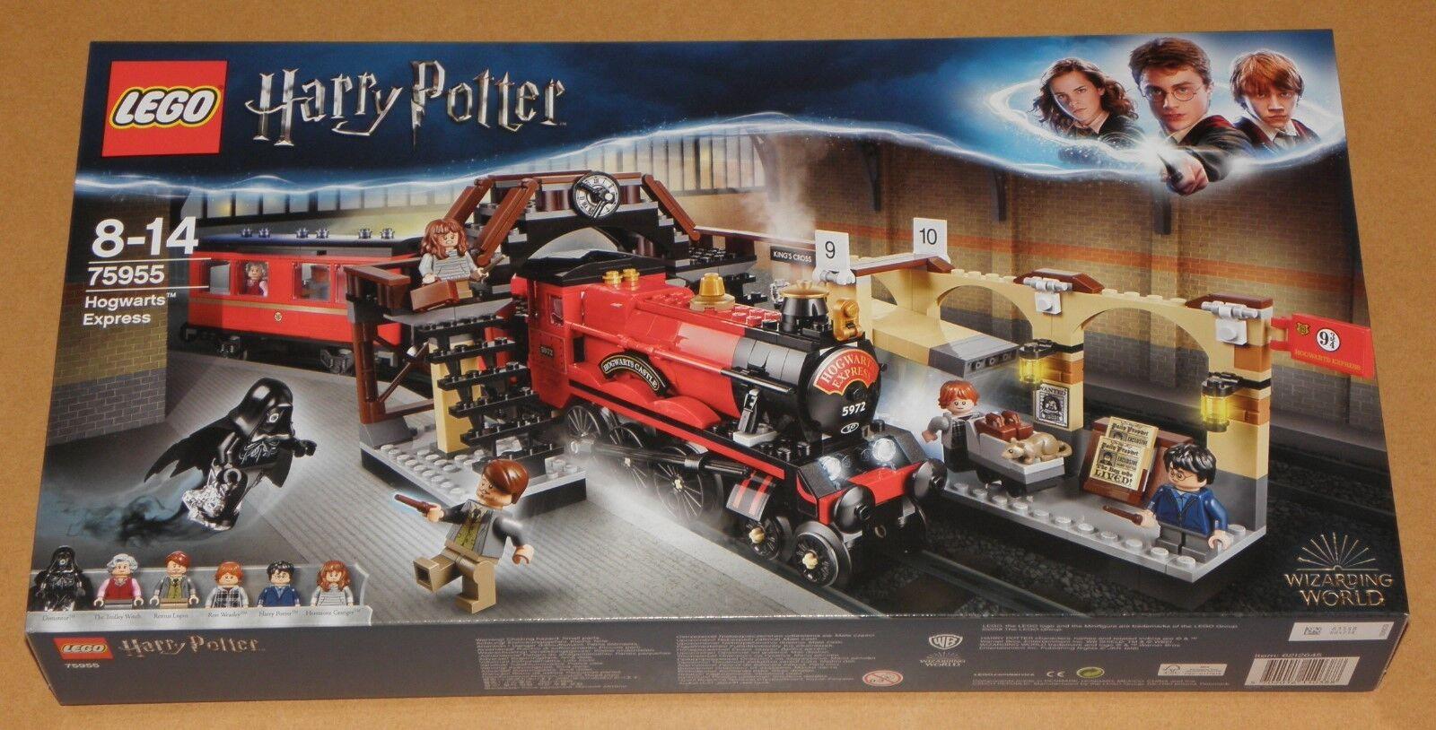 Lego 75955 Harry Potter - HOGWARTS EXPRESS Bahnhof Lokomotive Zug Figuren   NEU