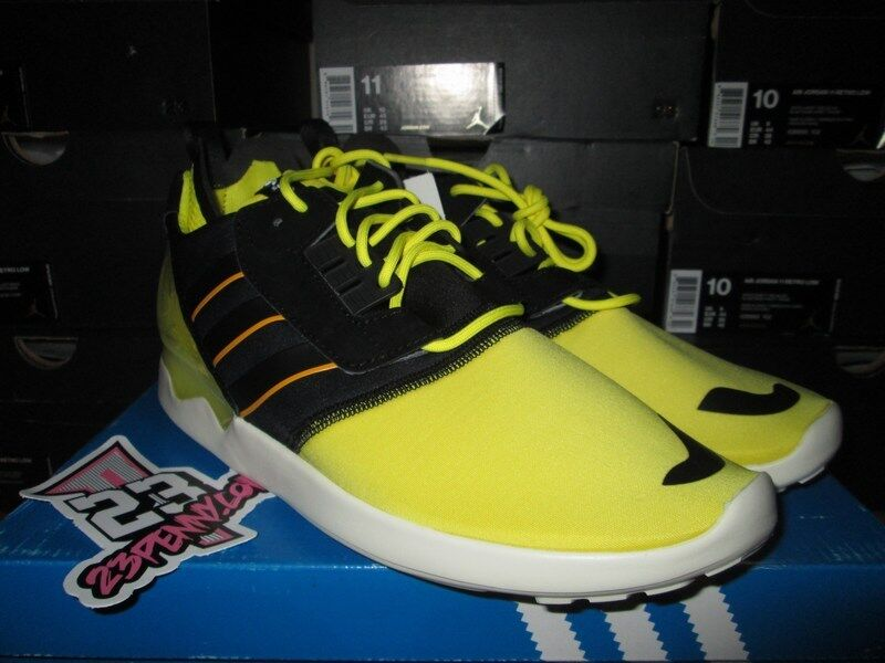 SALE ADIDAS ZX 8000 BOOST SONIC YELLOW BLACK WHITE Price reduction New shoes for men and women, limited time discount