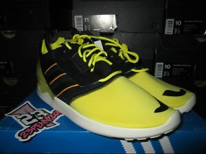 77688d116514a SALE ADIDAS ZX 8000 BOOST SONIC YELLOW BLACK WHITE SZ 10 NEW ULTRA ...