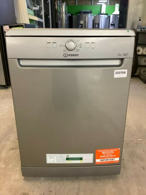 Indesit DFE1B19XUK Standard Dishwasher - Stainless Steel - A+ Rated #EDB253766