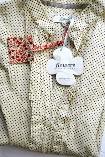 44 For Punkte 99 Neu Friends Langarm D1131 Edel Flowers Bluse Stretch Hemd Yq60wf