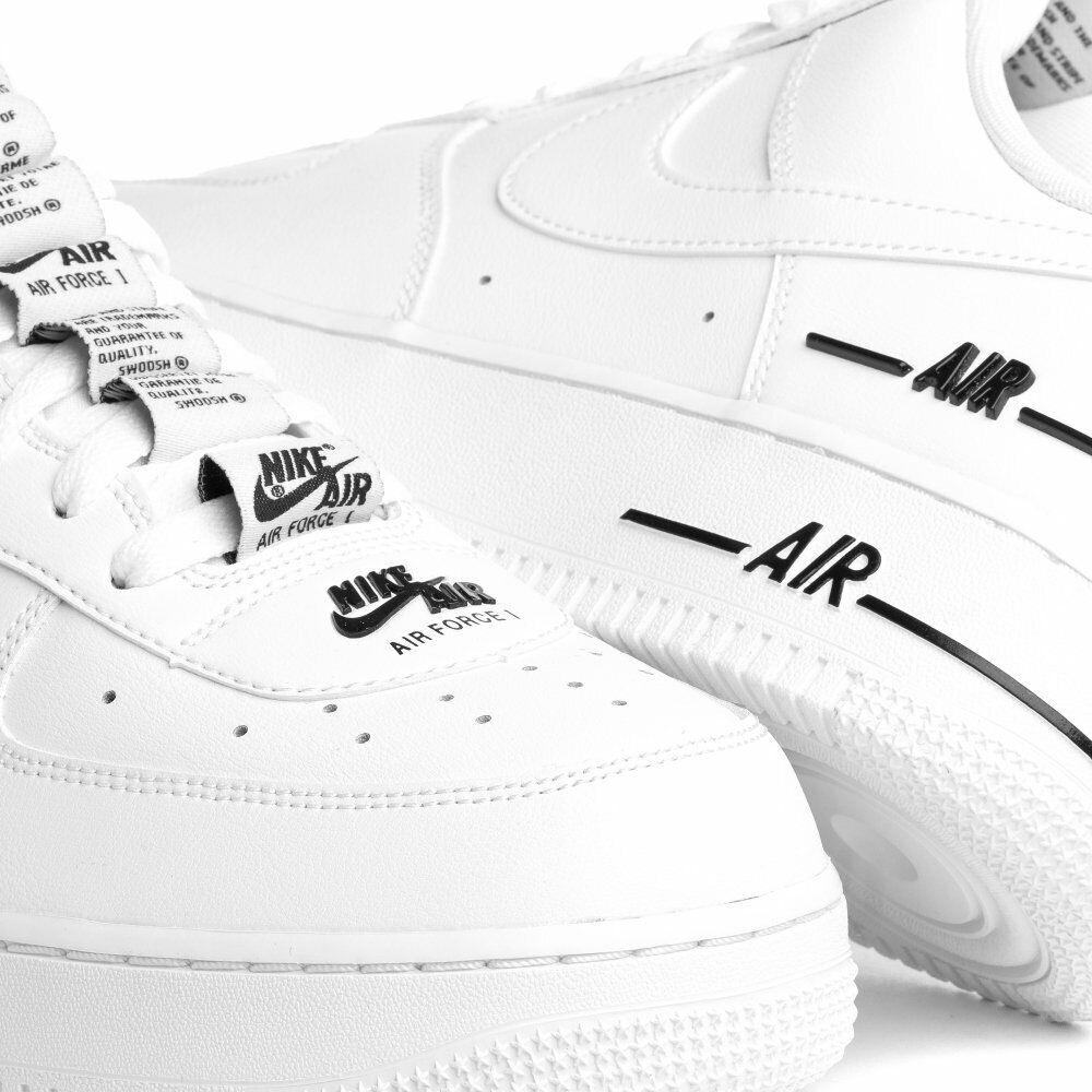 Nike Air Force 1'07 lv8 Tape Double Air Weiß Größen 6 12uk cj1379 100