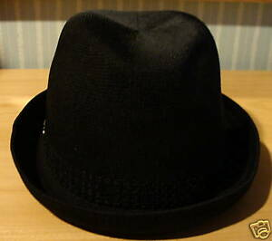 New Era Cap Hat Fedora EK Legend Collection Black S/M