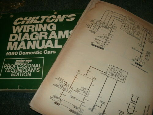 1990 CHRYSLER NEW YORKER IMPERIAL WIRING DIAGRAMS SCHEMATICS MANUAL SHEETS SET