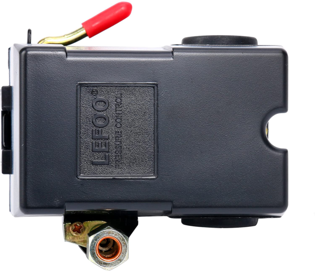 LEFOO LF10A-4H 90-125PSI Air Compressor Pressure Switch Control Valve for sale online