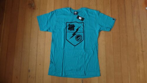 Shoyoroll x Undefeated Bolt Seal Tee Black//Red//Teal//White ***Brand New***