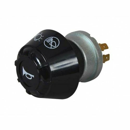 Durite Rotary Headlight Switch - Off/Side/Dip/Main & Horn Push - 0-645-70