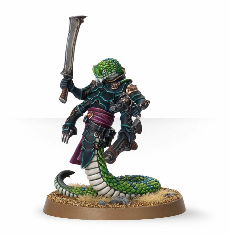miglior prezzo Sslyth of Dark Eldar soldier painted painted painted azione cifra miniature   Warhammer 40K  buon prezzo