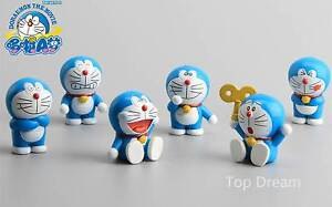 6pcs-Anime-Doraemon-Robot-Cat-Mini-Action-Figure-Set-Cape-Topper-Kids-Gift