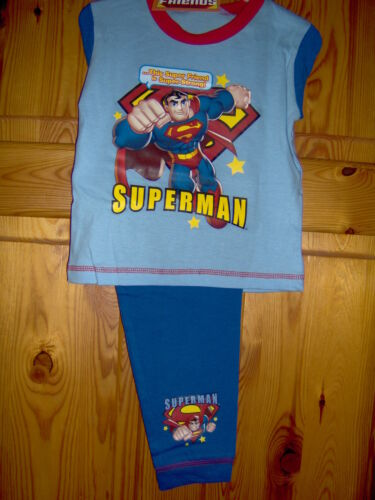 2//3-3//4-4//5 anni 18//24M I BAMBINI SUPERMAN o Bob Builder Età Pigiama