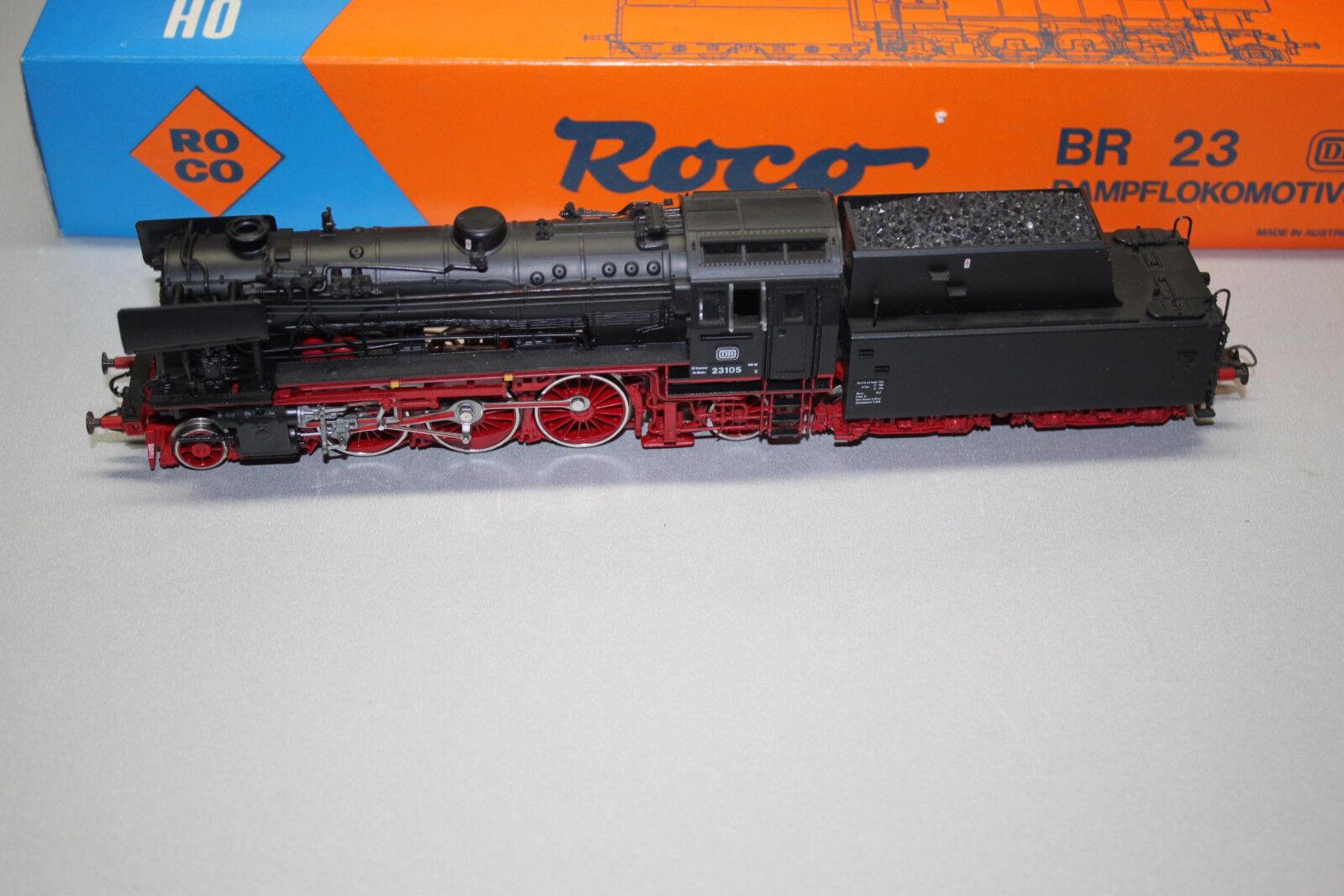 ROCO 43249 locomotiva serie siano 23 105 DB traccia h0 OVP