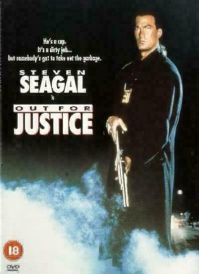 Steven Seagal out for Justice 1991 Martial Arts Action ...