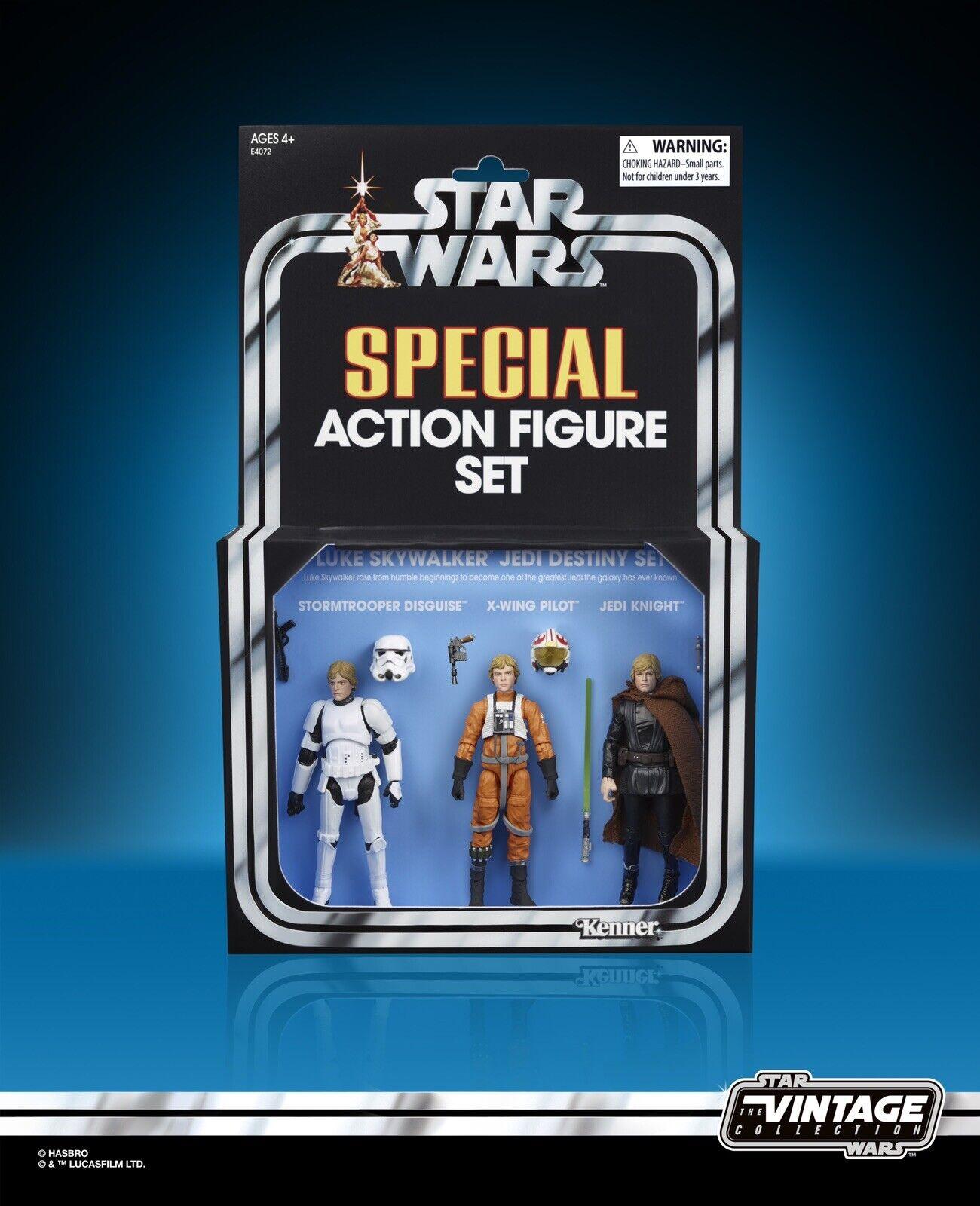 Hasbro Pulse Star Wars Vintage Collection Luke Skywalker SDCC 2019 EXCLUSIVE