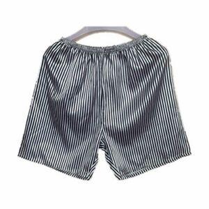 Mens Underwear Satin Boxers Shorts Pyjamas Sleepwear Nightwear Pants 32-44 Gift