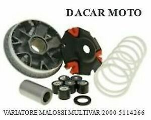 SK25 5114266 VARIATORE MALOSSI KYMCO DOWNTOWN 125 IE 4T LC EURO 3-2016 MULTIVAR 2000