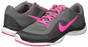 designer fashion 9bb91 20a79 Image is loading Women-039-s-Nike-Flex-Trainer-6-Training-