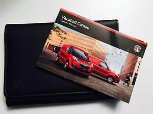 VAUXHALL COMBO VAN   Owners handbook Manual Pack New Genuine New Shape
