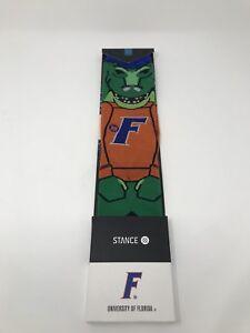 STANCE-U-of-Florida-Albert-Mascot-Men-039-s-Socks-Large-9-12-FREE-USA-SHIPPING