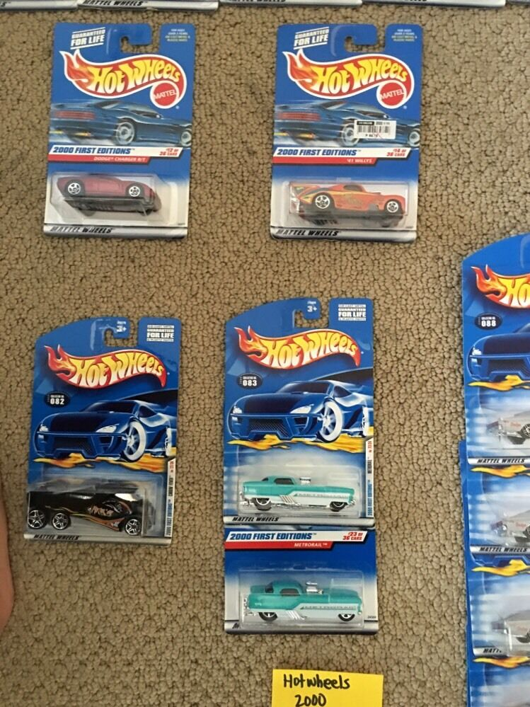 Hot Wheels 2000 First Editions with with with Doubles Lot Of 43 Cars -- 015 ba8ee7