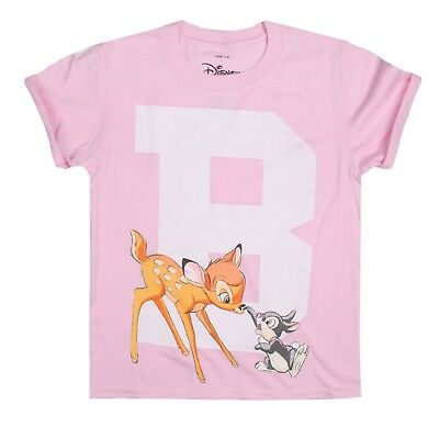 Bambi College Light Pink Pure White And Translucent Kids T-shirt Generous Disney
