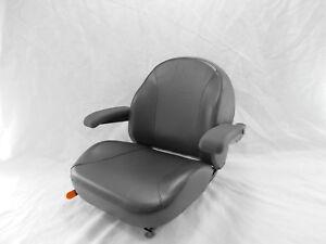 Black Ultra Standard Seat C1110 Fits Kubota Ariens Ztr