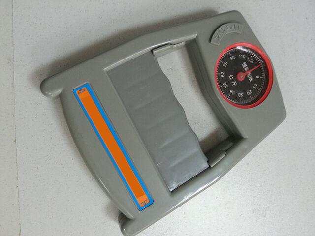 Tide Grip Force Measurement Power Strength Meter Scale Gripper Dynamometer  JR