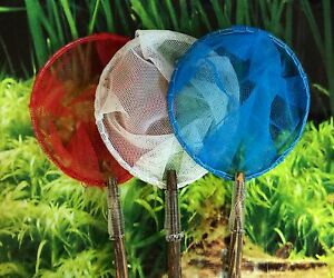 Shrimp-Tetra-Guppy-Betta-Fish-Net-3-034-Round-Fine-Mesh-Handmade-Aquarium