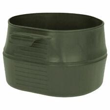 Vaso Plegable 600 ml verde oliva camping Wildo libre PBA ecológico