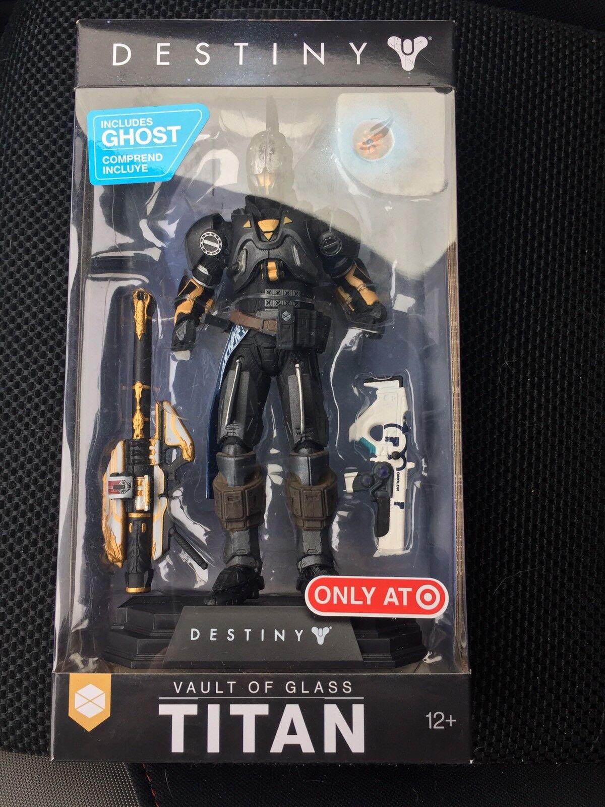 McFarlane Toys DESTINY 2 Vault of Glass Titan TARGET Exclusive Amduat Ink Figure