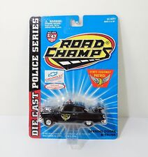 Road Champs 1955 Chevrolet Bel Air Ohio Police 1:43 Scale Diecast Model MOC