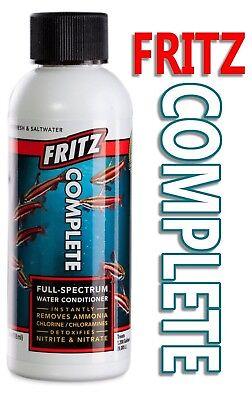 Fritz Aquatique Complet Aquarium Conditionneur D'eau 118ml 47505fm To Help Digest Greasy Food Fish & Aquariums Pet Supplies