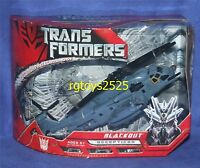 Transformers Movie Voyager Class Decepticon Blackout Factory Sealed 2006
