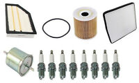 Volvo Xc90 05-07 V8 4.4l Tune Up Kit W/ Fuel Oil Air Cabin Filters & Spark Plugs on Sale