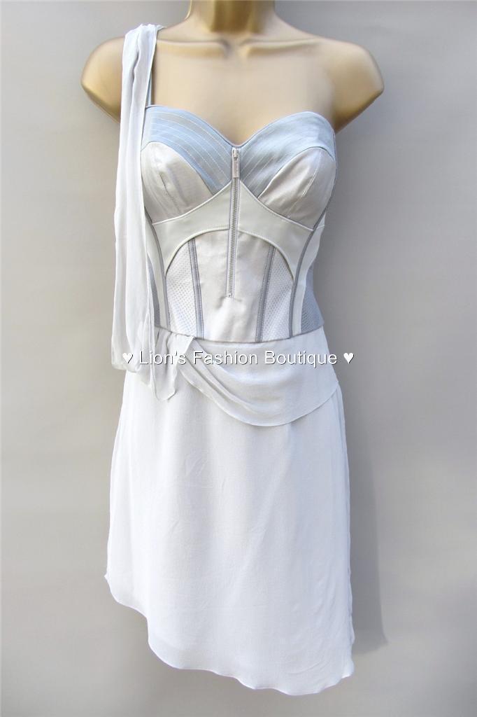 New KAREN MILLEN BNWT  Satin Silk Evening Party Prom Corset Dress SALE