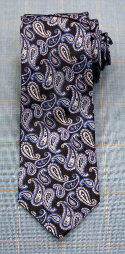 Handmade Tie 100/% Silk Paisley Style Bruno Piattelli Tie