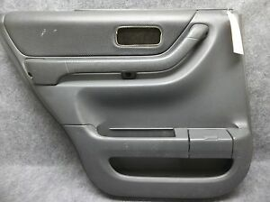 1997 2001 Honda Cr V Lh Rear Interior Power Door Panel Dark Gray 18872 Ebay