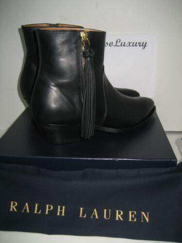 Collection cuir Bottines noires Ralph New 7 de Lauren en Us Ninette 5 collection la EfwqR7