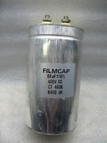 FILMCAP   60uF 400Vdc film//foil FOR TUBE AMPLIFIER CAPACITOR