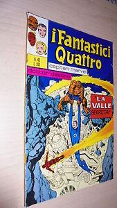 I-FANTASTICI-QUATTRO-N-43-EDITORIALE-CORNO-14-11-1972-LA-VALLE-SEGRETA