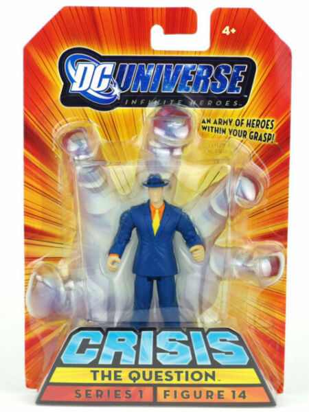 "DC Universe Infinite Heroes Crisis 3.75/"" la question Figure #14 Series 1 new in package"