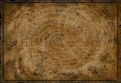 """Call of Duty HQ Zombies Chronicles Storyline COD Map Poster 13×20/"""" 24×36/"""" 32×48/"""""""