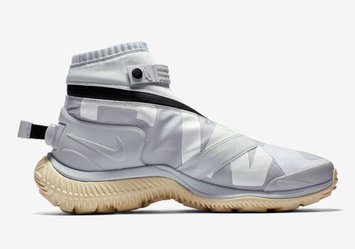 Blanco Platino Nuevo Lab puro Gaiter Gyakusou Boot 10 hombre para Nsw Tama negro Nike o 4ZSwqxa0w