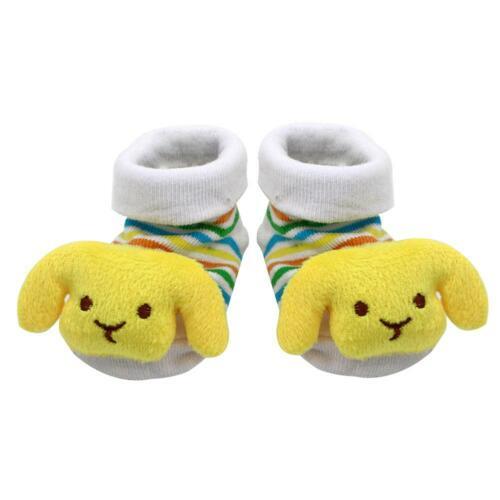 Baby Cartoon Cotton Sock Newborn Floor Wear Anti Slip Shoes Clothing Socks