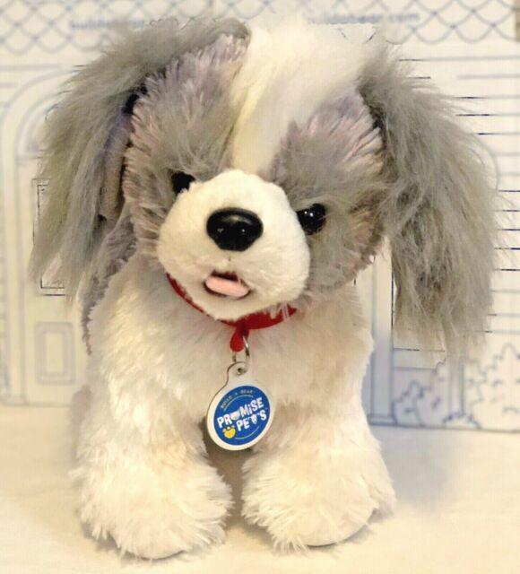 Set Of Dog Stuffed Animals, Build A Bear Promise Pets Shih Tzu Puppy Plush Dog Stuffed Animal Doll Sound Set For Sale Online