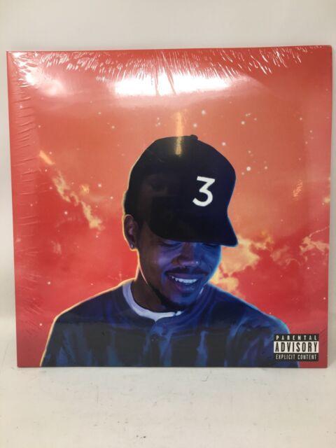Chance The Rapper Coloring Book 2x LP Vinyl - Red Orange ...