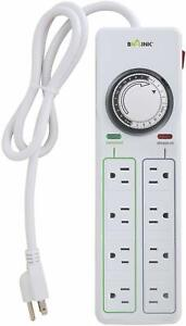 BN-Link-8-Outlets-Power-Strip-with-24hr-programmable-timer-and-surge-protector