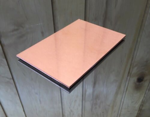 "1//8 COPPER SHEET PLATE NEW 4/""X6/"" .125 Thick *CUSTOM 1//8 SIZES AVAILABLE*"