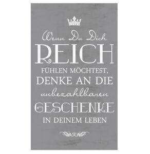 Wandschild-Dekoschild-Motivation-Wenn-Du-Sprueche-Vintage-Shabby-TOP