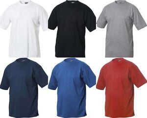 T-SHIRT-UOMO-MAGLIA-MAGLIETTA-MANICA-CORTA-TAGLIE-FORTI-FINO-8XL-COTONE-OVER